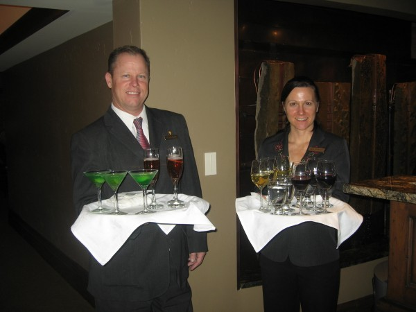 Stein's Sommelier, Cara Schwindt selected the finest wines for guests to enjoy while we toured