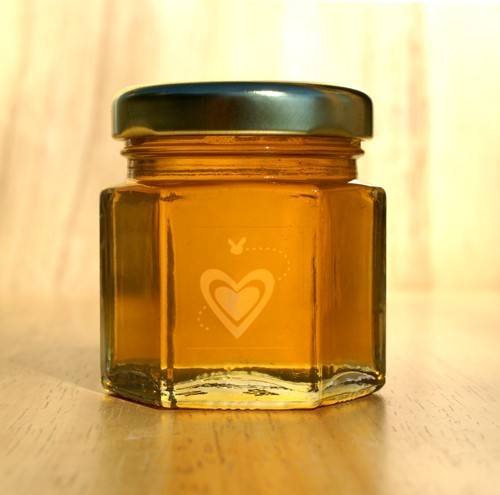 2oz Honey Jars