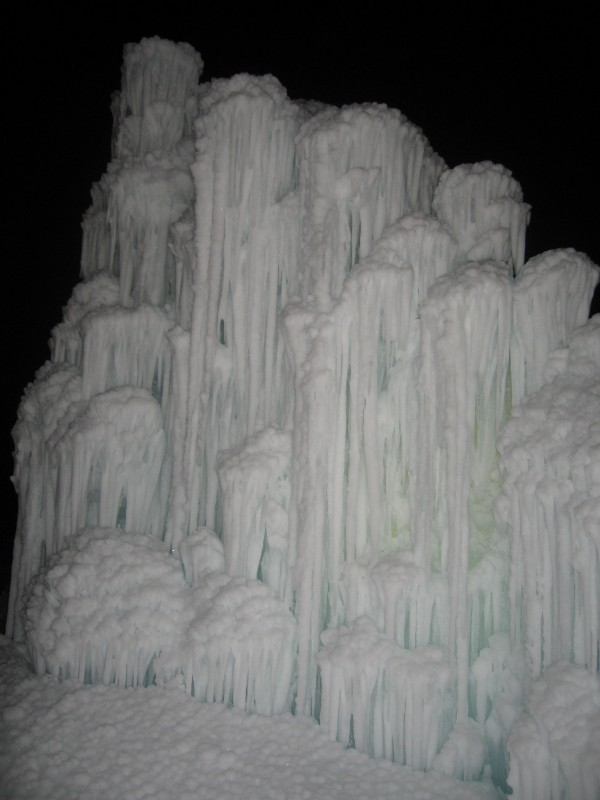 Ice Castles reach 30 ft and Deep Tunnels