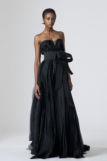This makes a great evening gown but would you consider it for your wedding?