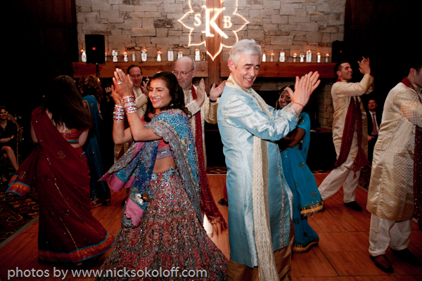 The Wedding Party performed a choreographed dance for the guests