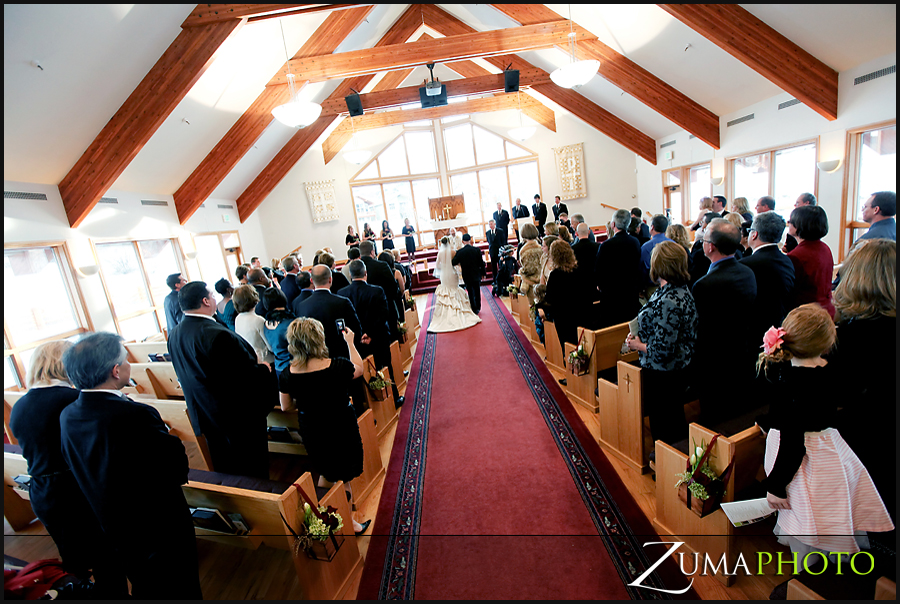 Park City Community Church is a beautiful church to celebrate your nuptials!